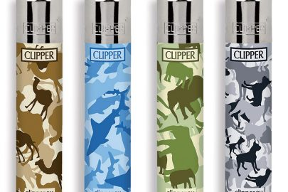 CLIPPER LARGE CAMOUFLAGE ANIMAL PRINT 12