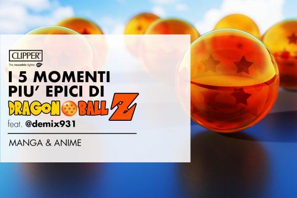 I 5 momenti più EPICI di Dragon Ball Z | feat. @demix931