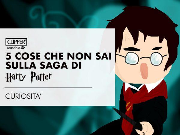 Le 5 cose che non sai della saga di Harry Potter