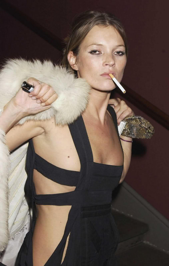 Kate Moss con un Clipper