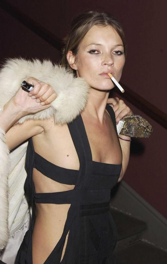 Kate Moss con un Clipper